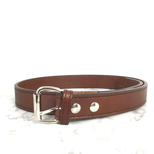 Bigfoot Brown English Bridle Leather Belt Size 34